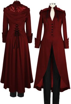 Long Victorian Coat By Amber Middaugh