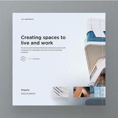 531 отметок «Нравится», 11 комментариев — UI Design Community (@uivivid) в Instagram: «Amazing minimal work here!  Do you like minimalistic websites?  Follow  @uxvivid & @uivivid …»