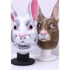 Creepy White Or Brown Rabbit Mask Creepy Masks, Cool Masks, Evil Bunny, Plastic Mask, Bunny Mask, Easter 2018, Donnie Darko, Party Fashion, Summer Sale