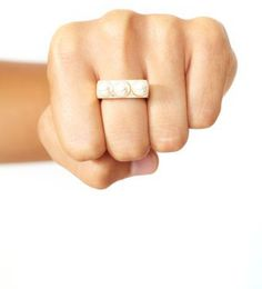 #nastygal.com             #ring                     #Triple #Pearl #Ring      Triple Pearl Ring                                   http://www.seapai.com/product.aspx?PID=1499733