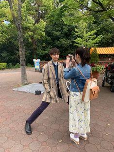 Japanese Film, Japanese Boy, Japanese Artists, Hashimoto Kanna, Japanese Characters, Korean Dress, Antara, Pose Reference, Couple Goals