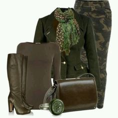 I don't usually like camouflage but outfit is cute. Military Inspired Fashion, Camo Fashion, Military Fashion, Fashion Outfits, Womens Fashion, Fashion Ideas, Fashion Styles, Fashion Fashion, Classy Outfits