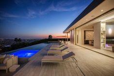 Opus Beverly Hills Luxury Pool #modernpoolbeverlyhills