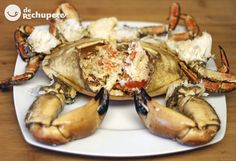 Spanish Food, Canapes, Chicken Wings, Gourmet Recipes, Tapas, Food To Make, Seafood, Veggies, Food And Drink