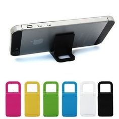 Let's talk about watching videos on your phone for a second.  It's so frustrating when someone wants to share an awesome video with you and their hand is shaking slowly while you're trying to watch it... right?  Well, you're going to do it right!  You'll set the tone and etiquette for watching videos with our amazing slim Phone Kickstand For Your Keychain!  This kickstand fits easily onto your keychain or can even just reside in your purse or pocket!  It's so small, you'll kind of forget…
