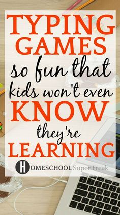 We have the ultimate list of free typing games for different levels, free typing lessons, typing tests, and keyboarding activity for elementary students and beyond to provide online typing…More Test For Kids, Lessons For Kids, Piano Lessons, Typing Programs For Kids, Typing Practice For Kids, Teaching Kids, Kids Learning, Learning Stations, Speech Therapy