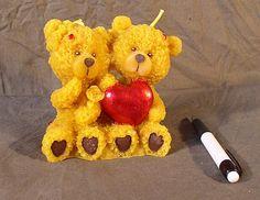 Dva medvede -maľovaný