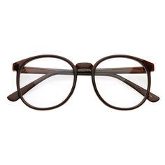 Vintage Round Clear Lens P-3 Glasses 2891 from zeroUV ... these are my glasses