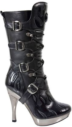I wish I could justify a pair of these! Maybe when my kids are grown up I'll recapture my youth and hit the goth clubs again...