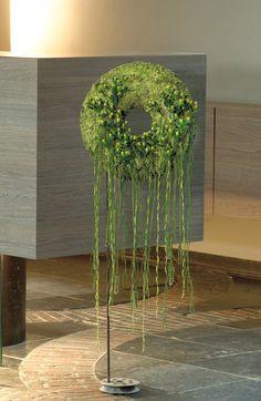 Original funeral wreath ~ Stijn Cuvelier