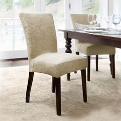 Shorty Dining Chair Slipcover  Dining Chair Slipcovers Chair New Large Dining Room Chair Covers 2018