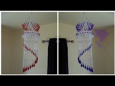 Brick Stitch Tutorial, Door Hanging Decorations, Jhumar, Beaded Flowers Patterns, Butterfly Tree, Pearl Chandelier, Diy Wind Chimes, Craft Corner, Girl Photography Poses
