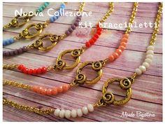 Tutto il occorrente per creare un braccialetto, tantissimi colori per scegliere, vieni per il tuo su Mondo Bigiotteria!