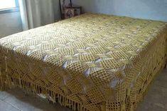 almofadas de croche quadrada com graficos - Pesquisa Google