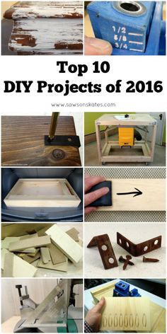 Top 10 DIY Projects of 2016