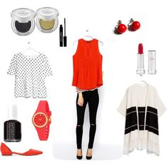 Everyday look by annaturcato on Polyvore featuring moda, MANGO, ASOS, Kate Spade, Lord & Berry and Essie