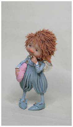 Fairy puppet  little Fredo  van enaidworld op Etsy