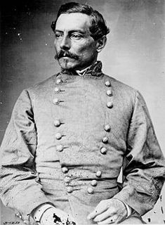 Pierre Gustave Toutant Beauregard  was a Louisiana-born American military officer, politician, inventor, writer, civil servant, and the first prominent general of the Confederate States Army during the American Civil War.