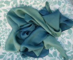 Hey, I found this really awesome Etsy listing at https://www.etsy.com/listing/269977151/indigo-scarf-blue-green-scarf-ombre