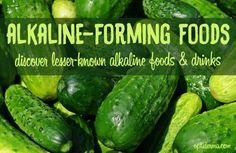 Alkaline Foods & Drinks