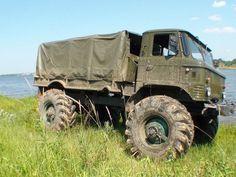 Russian truck Gaz-66