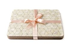 4 Placemats Ivory Placemats Mother of Pearl by EInderDesigns