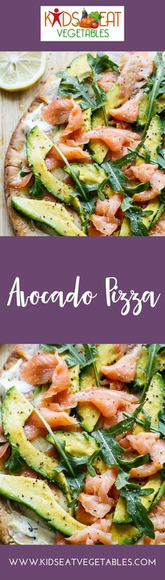 This is a super delicious pizza with avocado, cheese, cashews and other mouthwatering toppings. The sauce uses yogurt. You'd have your kids clamoring for more once you take it out of the oven. I use a puff pastry for this one. Thaw it out overnight.  Here