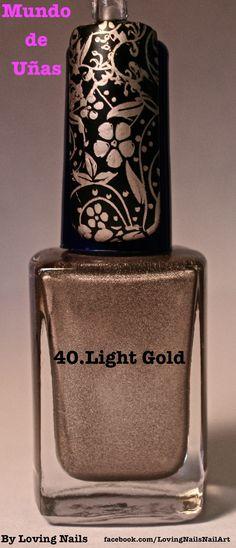 Light Gold - Mundo De Unas.