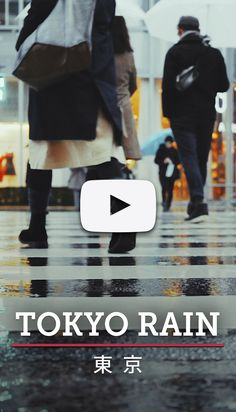An experimental short cinematic film from a rainy day in Tokyo, Japan. Filmed entirely on a Sony II to test various colour grading and video blending techniques. Sony A7r Ii, Color Grading, Travel Videos, Tokyo Japan, Thailand, Colour, Film, Color, Movie