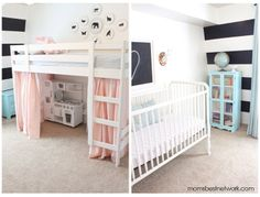 Home Style: Shared room from Danielle Oakey Interiors via momsbestnetwork.com