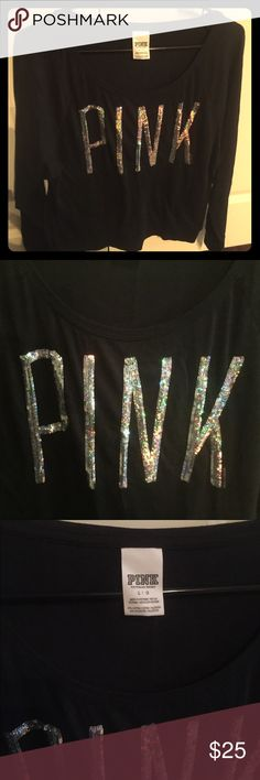 CLEARANCE 🖤 Victoria's Secret Pink Sequin Top READY TO SELL ASAP‼️🖤 Ready to go to a stylish home! Never worn! Long sleeved! Fluorescent sequin PINK! Non smoke & non pet household! Although long sleeved, it's not a heavy material. Let me know if you need more information! PINK Victoria's Secret Tops Tees - Long Sleeve