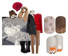 """""""Name the Snow Day Activity - Jamberry Nails Game"""" by kspantonjamon on Polyvore featuring Dorothy Perkins, Yves Saint Laurent, Skechers, H&M and Coal"""