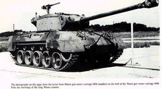 The Super Hellcat  has the 90mm gun and turret from the M36 Jackson tank destroyer on top. It worked!