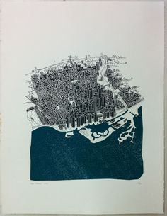 Toronto Screen Print by bree,ree. At the City of Craft this weekend!