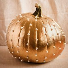 Season's Best: DIY Pearls & Gold Pumpkin! + Apple Flan Tart Recipe + Easy & Fruity Simple Syrups