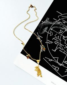 Star Gatherer Limited Edition Bear Necklace — Eclectic Eccentricity Vintage Jewellery