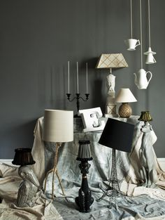 Custom made lampshades vt interiors for the home pinterest sarah kaye represents lampshadesclevelandfixtures mozeypictures Image collections