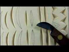 101-2 My Chip Carving - Two-sided chips - YouTube