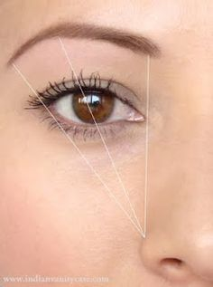 Eyebrow shaping tips...and application of shadows with effects