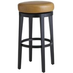 Stratmoor Swivel Barstool - Camel - or you can do the swivel in this stool and wipe clean.  Pier ! $129