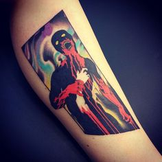 Zombie Picture - http://www.tattooideas1.org/placement/forearm/zombie-picture/