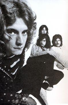 Led Zeppelin, c. 1969.