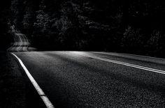 Dark Road. Photo by Mikko Lagerstedt.