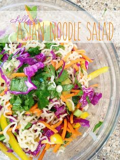 Chilled Asian Noodle Salad