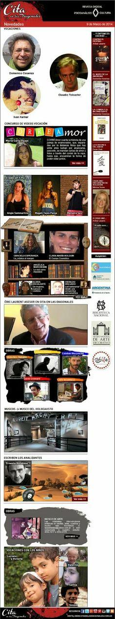 Cita en las Diagonales/ Blog: Cita en Las Diagonales en Marzo. Suscripción Gratuita.