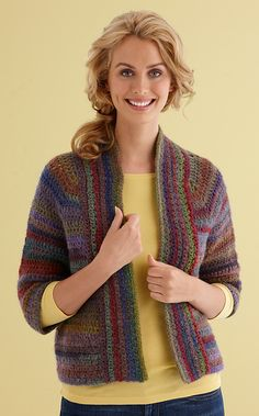 Ravelry: Perfect Crochet Cardigan pattern by Lion Brand Yarn
