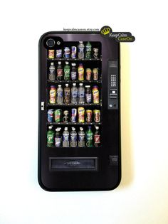 Iphone 4 Case Snack Vending Machine iPhone 4S by KeepCalmCaseOn, $15.00