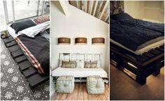 14 łóżka zrobione z niepotrzebnych palet - genialne i wygodne