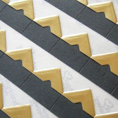 Photo Corners Self Adhesive Gold (potentially for save the dates)