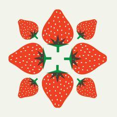 strawberry star by Maja Modén